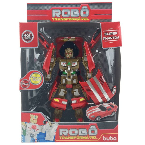 Robô Transformável - Super Phantom Racing King