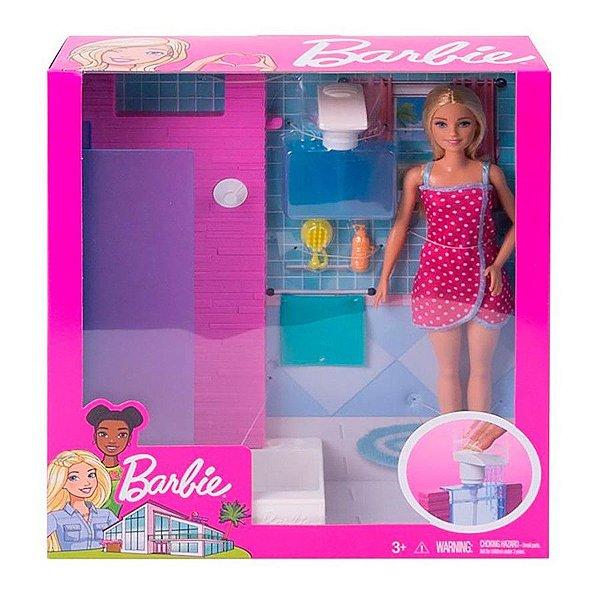 Barbie Boneca e Mobília