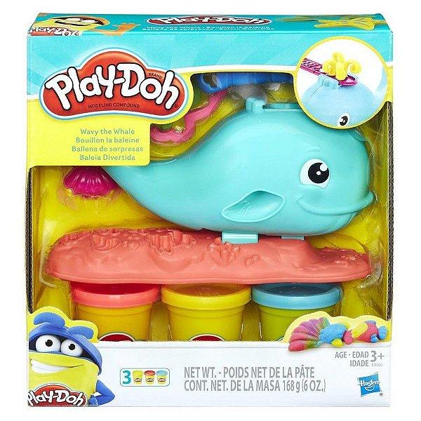 Play-Doh Baleia Divertida
