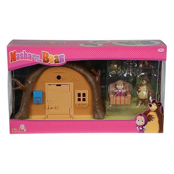 Masha e o Urso -  Playset Casa do Urso