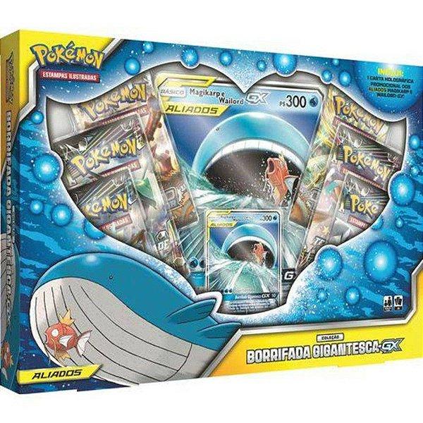 Pokémon Box - Borrifada Gigantesca-GX