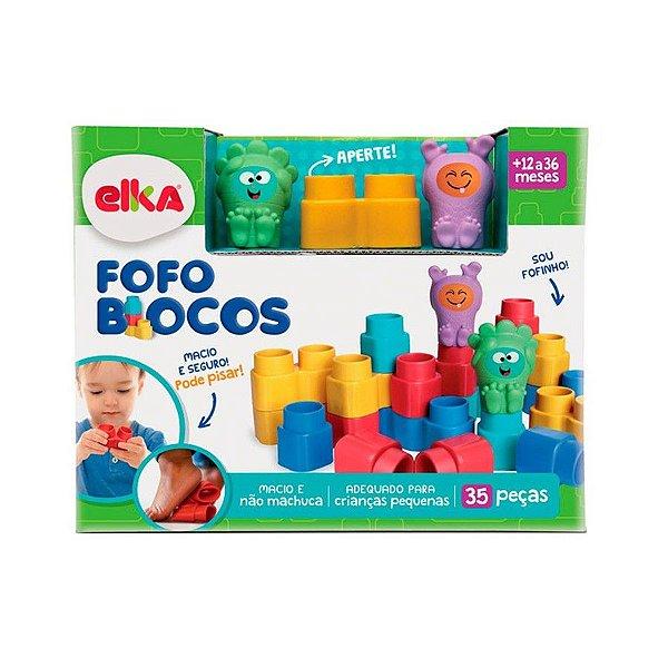 Fofo Blocos - 35 Peças