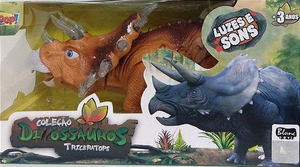 Coleção Dinossauros - Triceratops