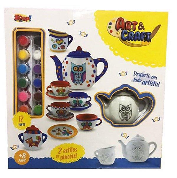 Coleção Art & Craf Conjunto de Chá