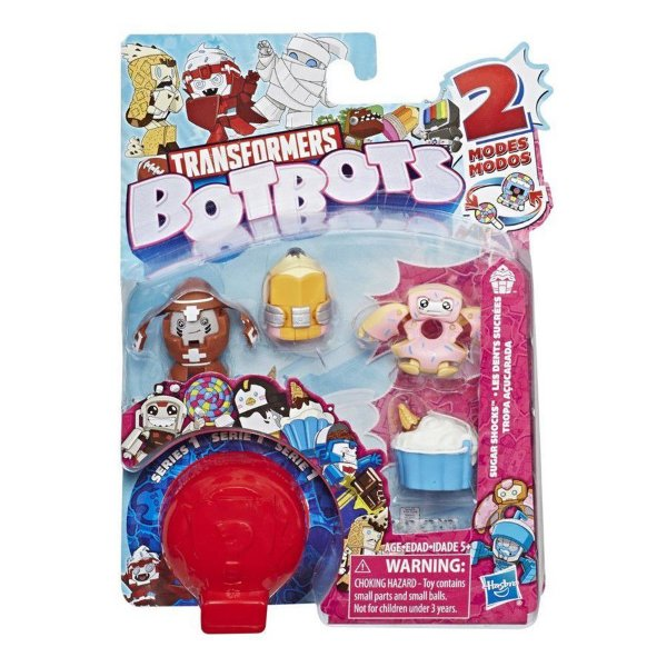 Transformers BotsBots Pack com 5