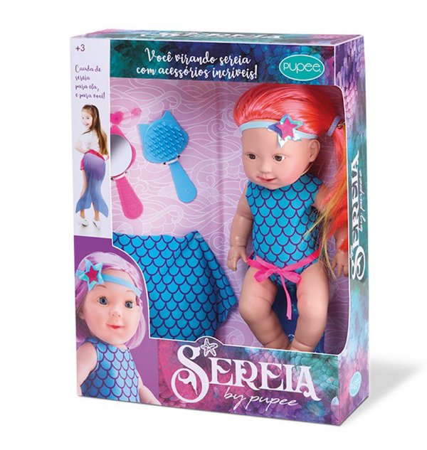Boneca Pupee Sereia