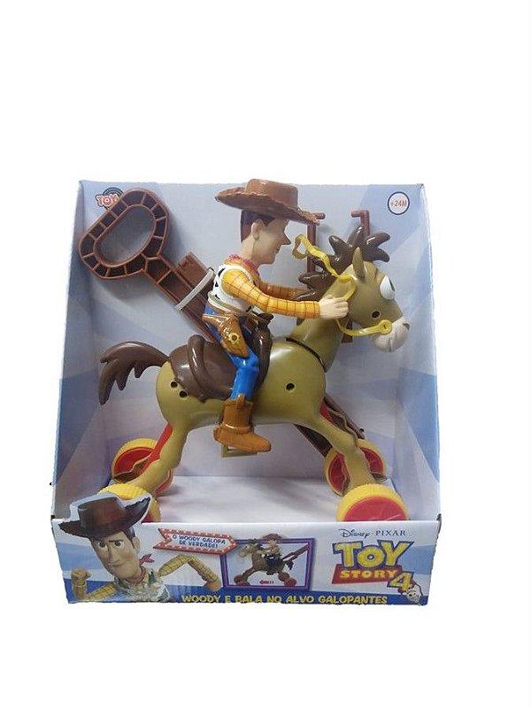 Boneco Woody E Bala no Alvo Galopante