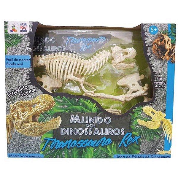Mundo dos Dinossauros - Tiranossauro Rex
