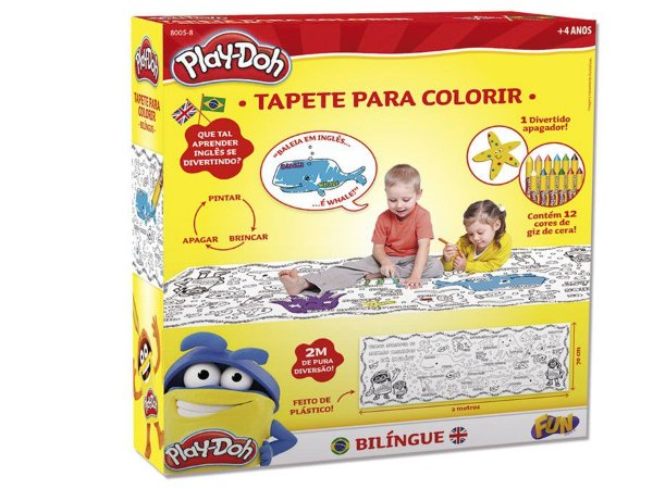 Play-Doh Tapete Para Colorir - Bilingue