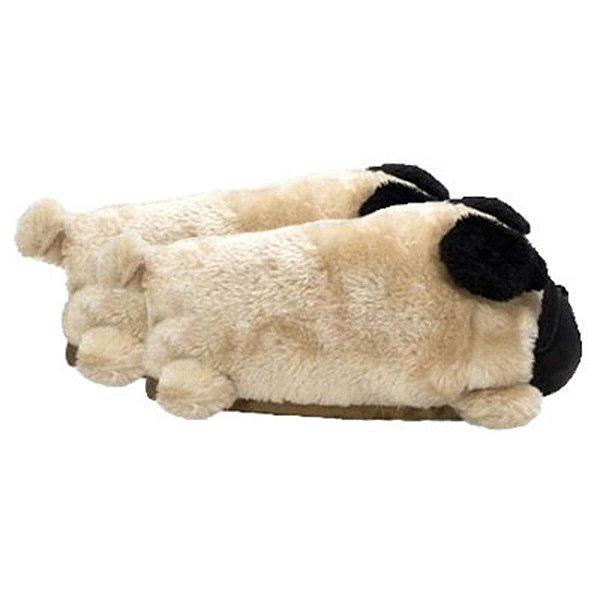 Pantufa 3D - Pug