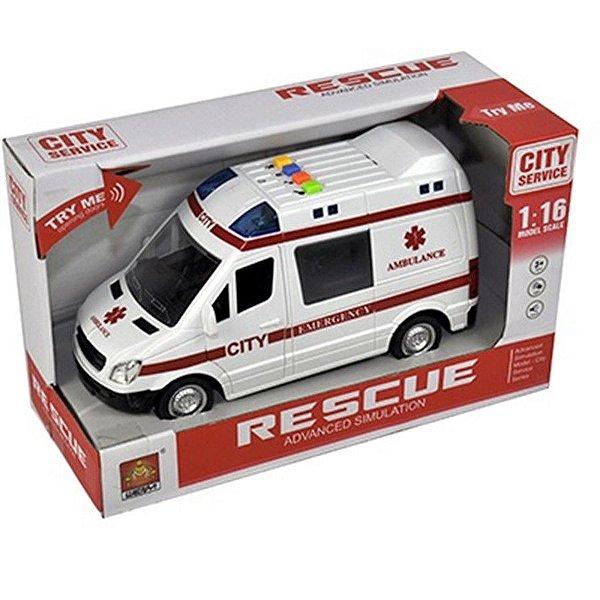 Carrinho de Ambulância