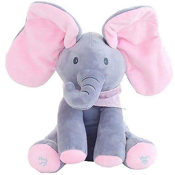 Elefante de Pelúcia com Movimentos