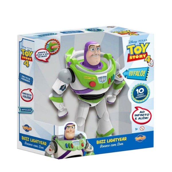 Toy Story 4 - Buzz com Som