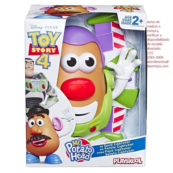 Toy Story - Sr. Cabeça de Batata Woody e Buzz