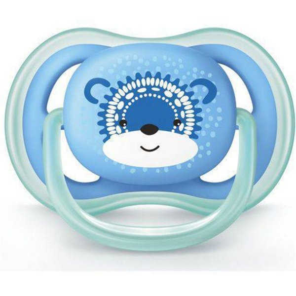 Chupeta Ultra Air Urso Azul - 6 a 18 meses