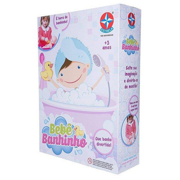 Boneca Bebê Banhinho