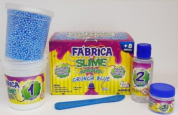 Kimeleka Fábrica de Slime - Crunch Blue