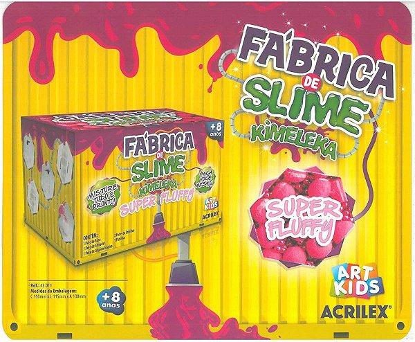 Kimeleka Fábrica de Slime - Super Fluffy