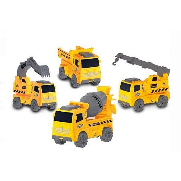 Mini Caminhão de Construção - Sortidos