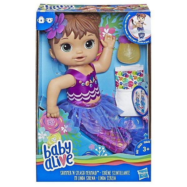 Baby Alive Linda Sereia Morena