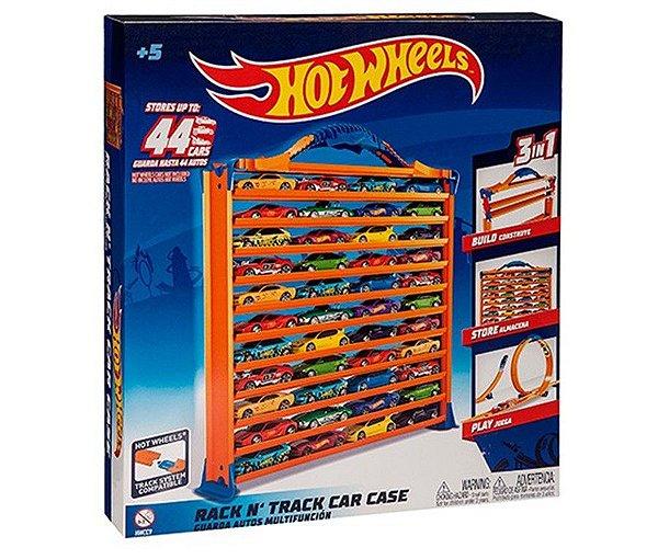 Hot Wheels - Porta Carrinhos e Pista