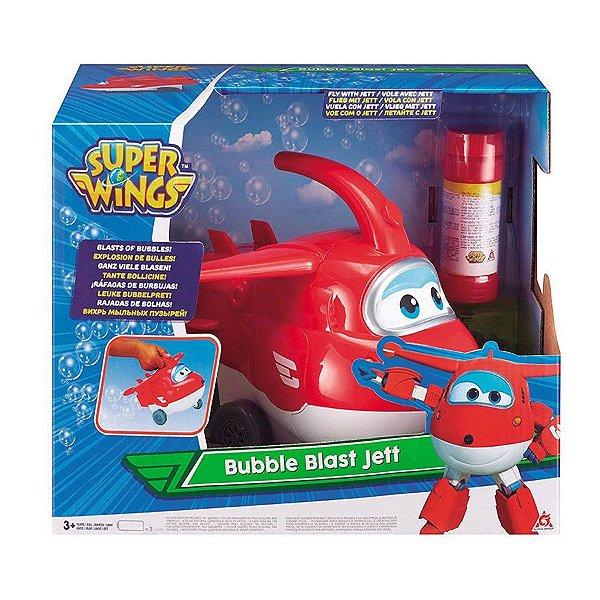 Super Wings -  Jett Explosão de Bolhas