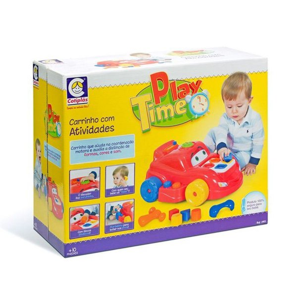 Carro de Atividades Play Time