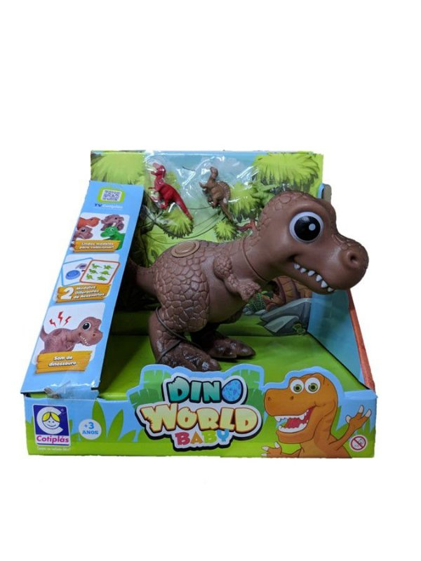 Dino World Babys - T-Rex Dinossaurinhos