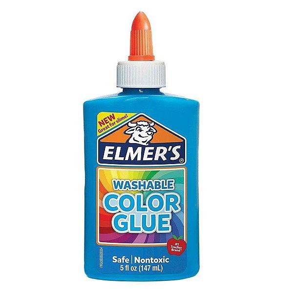 Elmers Cola Colorida Azul 147ml