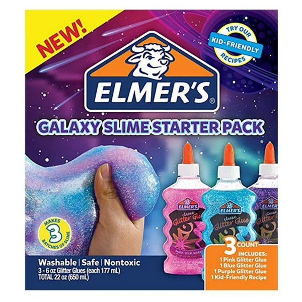 Elmers Kit Slime Galaxy Starter Pack