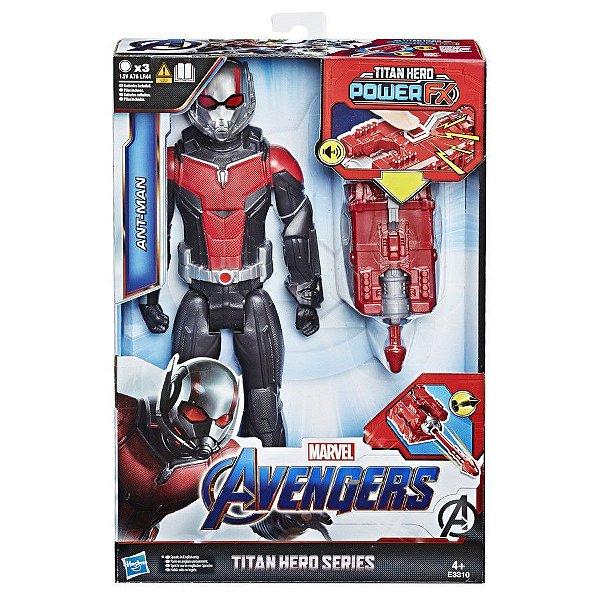 Vingadores Ultimato - Homem-Formiga com Lançador Power FX