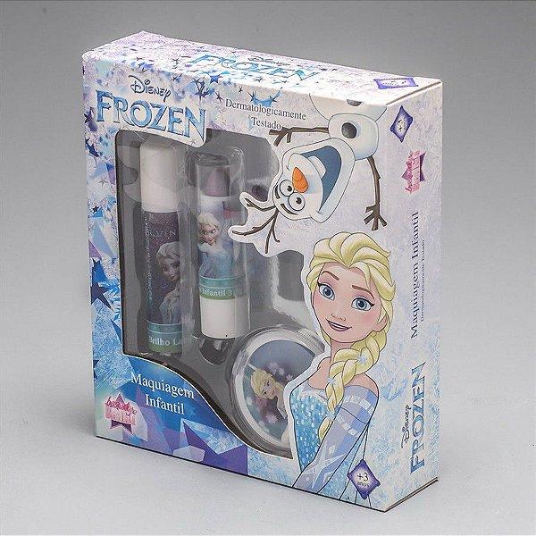 Kit Maquiagem Infantil - Frozen