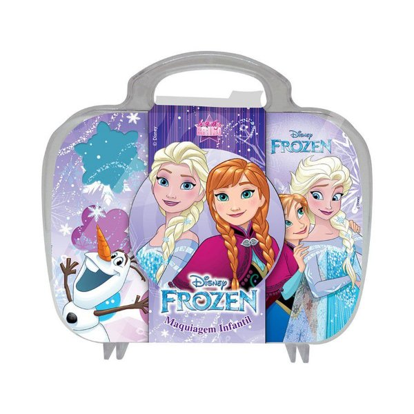 Maleta Frozen com Maquiagens