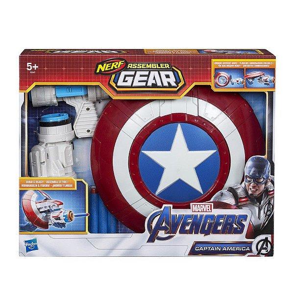 Nerf Vingadores - Lançador Capitão América