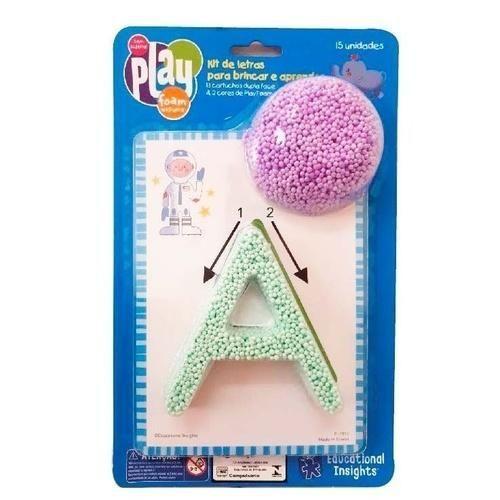 Play Foam Kit Formas e Números