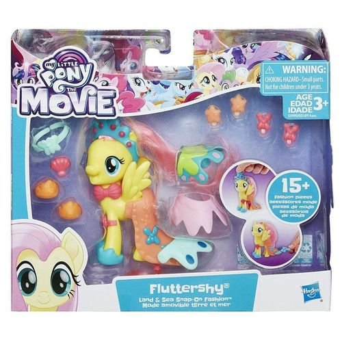 My Little Pony Movie com acessórios de moda