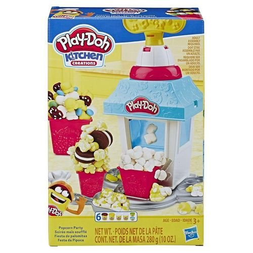 Play Doh Kitchen Festa da Pipoca