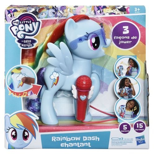 My Little Pony Rainbow Dash que canta
