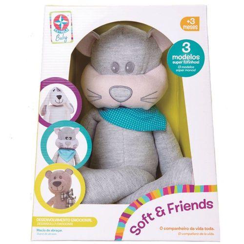 Pelúcia Soft e Friends Miau
