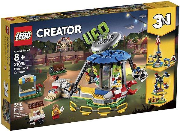 Lego Creator 3 em 1 Carrossel da feira de diversões