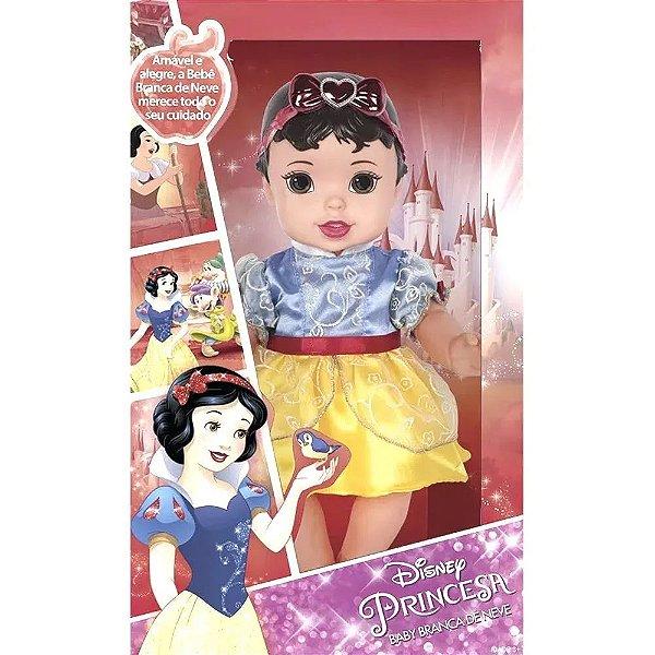Boneca Princesa Baby Branca de Neve
