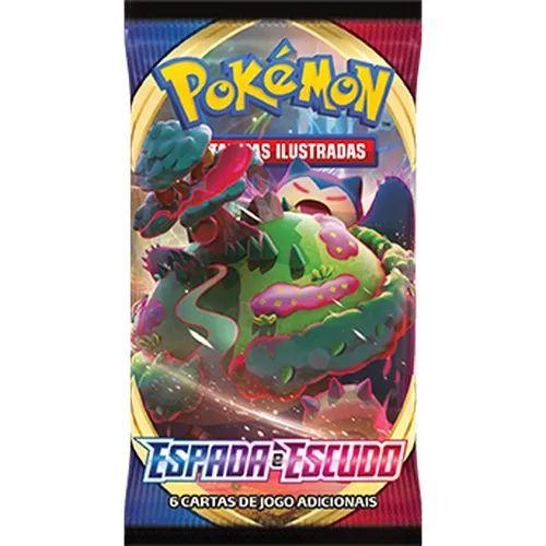 Cartas Pokémon Booster Espada e Escudo Serie 1