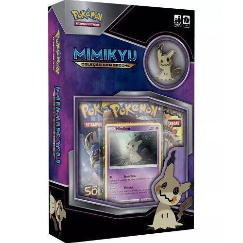 Minibox Pokemon Mimikyu c/ Broche