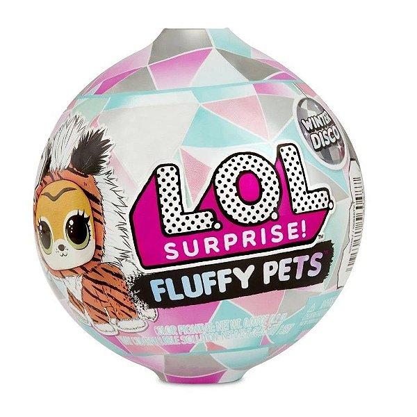 Boneca Lol Fluffy Pets 7 Surpresas