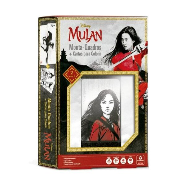 Jogo Monta Quadros Disney - Mulan