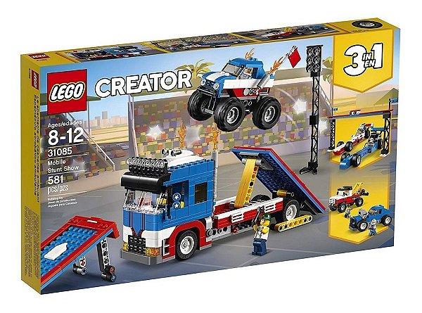 LEGO Creator Espetáculo de acrobacias móvel