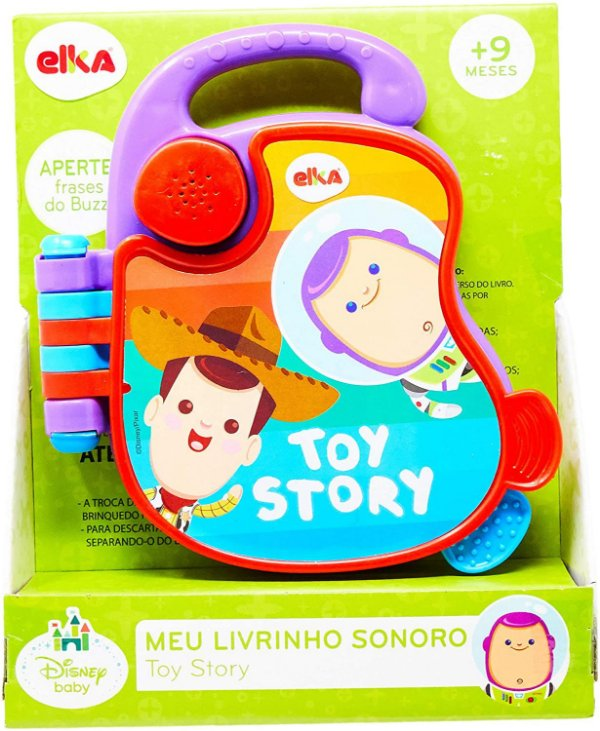Meu Livrinho Sonoro Toy Story Baby