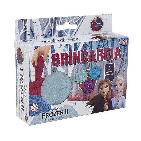 Areia de modelar Brincareia Frozen 2 na caixa