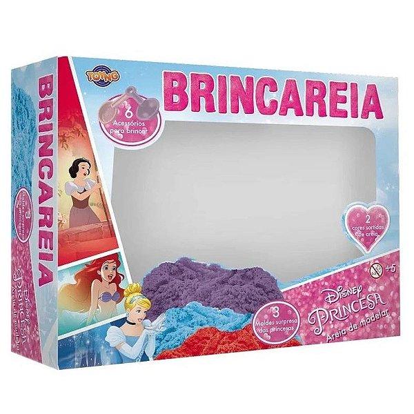 Areia de modelar Brincareia Princesas caixa grande