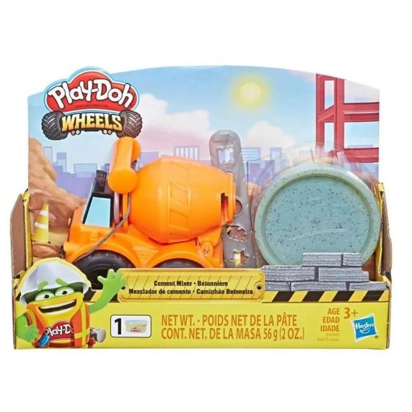 Play Doh Wheels Mini Veiculos